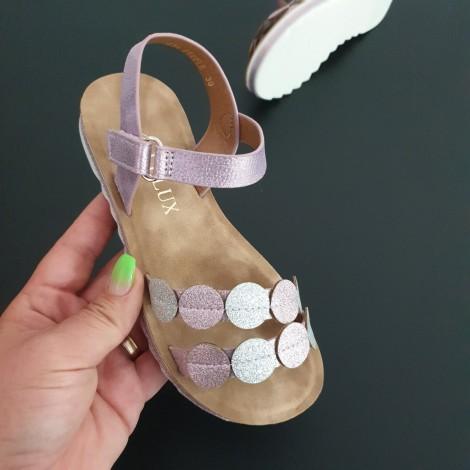 Sandale Casandra roz