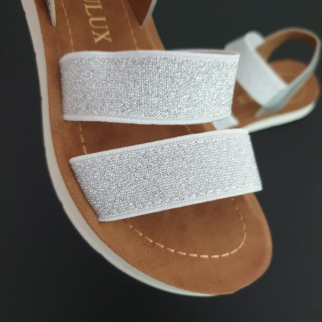 Sandale Casia argintii