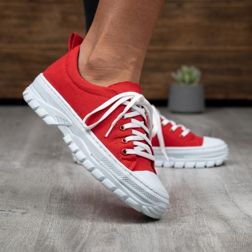 Adidasi Ever red