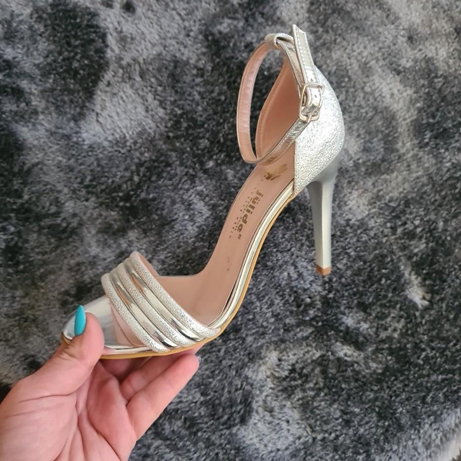 Sandale Jodi argintii