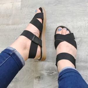 Sandale Vichy negre