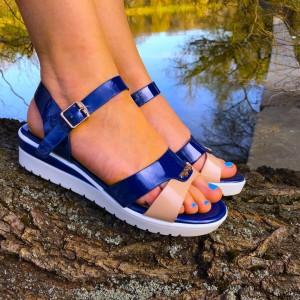 Sandale Sage Albastre
